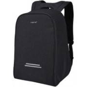 TIGERNU Anti Theft, Waterproof ,Scratch Resistant Laptop and Office Backpack with USB Charging Port (FIts 12-15.6 inch Laptops) black Color 20 L Laptop Backpack(Black)