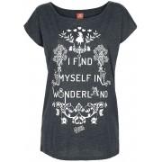 Alice im Wunderland Damen-T-Shirt - Offizieller & Lizenzierter Fanartikel S, M, L, XL, XXL, 3XL, 4XL, 5XL Damen