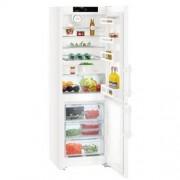 GARANTIE 4 ANI Combina frigorifica Liebherr, congelator NoFrost, clasa A++, alb CN 3515