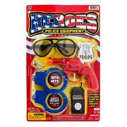 Jaru Heroes Police Equipment by 2Goodshop | Gear for Kids Be The Ultimate Cop and Feel A Hero Pack of 1 Item #2168