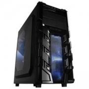 PC кутия Chassis Vortex_V3 Middle Tower, ATX, 7 slots, 2 X 5.25, 3 X 3.5 H.D., 3 X 2.5 SSD, 1 X USB2.0 / 2 x AUDIO / 1 x USB3.0, VORTEX_V3_403WB