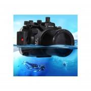 Puluz 40m Submarina, Buceo De Profundidad Caso Impermeable Cámara Carcasa Para Sony A7 Ii / A7r Ii