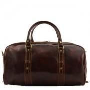 TUSCANY LEATHER Sac de Voyage Cuir Francoforte Petit Tuscany-Leather Marron