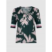 CKS Blouse Short sleeves ELIN ABSTRCTLEAVSAOP