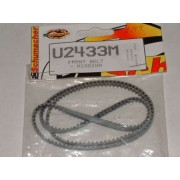 Schumacher U2433 Old Mission Grey Ultraflex front belt 207T