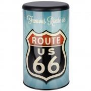 WENKO Koš na prádlo Vintage Route 66, kontejner 2 v 1, 54 l, WENKO
