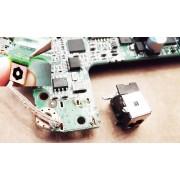 Reparatie mufa alimentare Toshiba