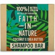 Faith in Nature Sampon Bar - kókusz és shea vaj - 85g