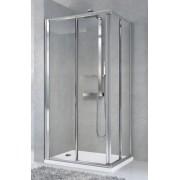 Novellini Cabine de douche Star A avec ouverture à angle coulissant 70x70 - 70x70 - acryli