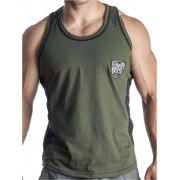 Good Boy Gone Bad VI9 Tank Top T Shirt Olive