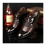 Zapatos De Vestir Cómodos Del Negocio De La Moda Para Los Hombres
