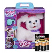 Fur Real Friends Get Up & Go Go My Walkin Pup Bundle With Duracell Batteries