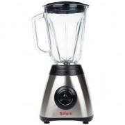 Blender Saturn ST-FP0056, 500 W, lame otel inoxidabil , 3 Viteze&Pulse, Vas sticla 1,5 l