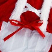 ELECTROPRIME Santa Claus Christmas Pet Dog Costume Outfit - Size M