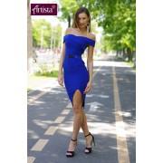 Indira Dress-albastra