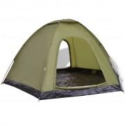 vidaXL 6-person Tent Green