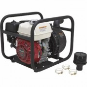NorthStar Self-Priming Multi-Purpose Chemical/Water Pump - 12,020 GPH, 2 Inch Ports, 160cc Honda GX160 Engine, Black