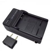 US enchufe cargador de bateria de la camara + adaptador de enchufe de la UE para BLE9PP? DMW-BLG10