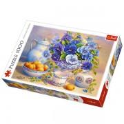 Trefl Puzzle Slagalica Blue Bouquet 1000 kom (10466)
