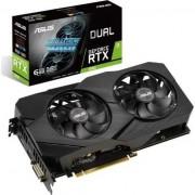 Placa video ASUS Dual GeForce RTX™ 2060 OC edition EVO, 6GB, GDDR6, 192-bit