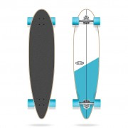 "LONG ISLAND - longboard CrossEssential 39""x9"" Pintail Long Island white/blue Velikost: 39x9"