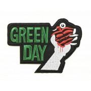 Green Day felvarró