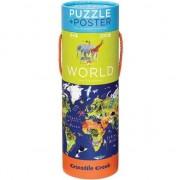 200 El puzzle. - Harta lumii (212315)