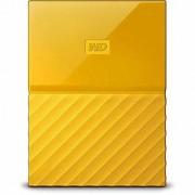 WD My Passport 2TB External Hard Drive (Yellow)