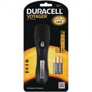 Torche Duracell Vogager en caoutchouc dur et 2 AA (CL-1)