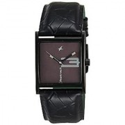 Fastrack Analog Black Rectangle Watch -9735NL02