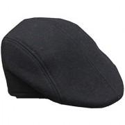 Tahiro Black Casual Cotton Golf Cap For Girls - Pack Of 1