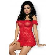 Női erotikus kombiné Flores red