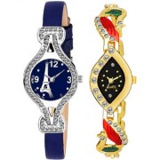 TRUE CHOICE NEW BRANDED AND FANCY LOOK BRAND 2019 COMBO WATCH FOR WOMEN AND GIRL WITH 6 MONTH WARRNTY