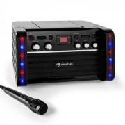 Auna Disco Fever Equipo de karaoke reproductor CD-/CD+G (KS1-DISCO FEVER)