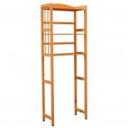 Mueble Rack de Bambu Para Baño