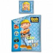 Lenjerie de pat Bob the Builder 160 x 200cm BOB02DC