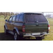HARD TOP CARRYBOY NISSAN NAVARA DBL CAB 02/05 AV VITRES - accessoires 4X4 m...