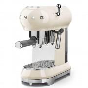 Espressor cafea Smeg ECF01CREU, crem, retro, 15 bar