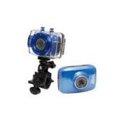 Câmera Esportiva Dvr 785hd Azul - Vivitar