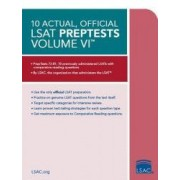 10 Actual Official LSAT Preptests Volume VI