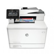 HP LaserJet Pro M377dw, лазерен цветен принтер/копир/скенер, 38400 x 600 dpi, 24стр/мин, USB, Wi-Fi, LAN