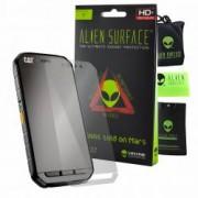 Folie Alien Surface HD CAT S41 protectie ecran + Alien Fiber cadou