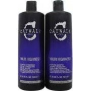 Tigi Catwalk Your Highness Pack Dúo 750ml Champú + 750ml Acondicionador