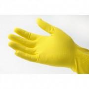 GM Equipement Gants de ménage jaunes en latex XL