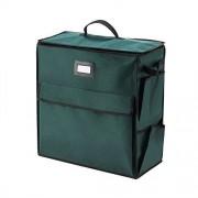 Elf Stor Ultimate Organizador de día festivo para papel de regalo y bolsas, color verde