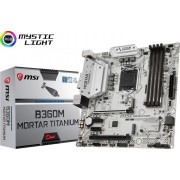 Matična ploča MSI LGA1151 B360M MORTAR TITANIUM DDR4/SATA3/GLAN/7.1/USB 3.1