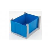 Flexeo-Systemmöbel Flexeo® Box, grauer Rahmen, groß