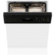 Bosch Serie 4 SMI50C16GB Built In Semi Integrated Dishwasher - Black