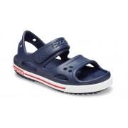 Crocs Preschool Crocband™ II Sandalen Kinder Navy / White 30