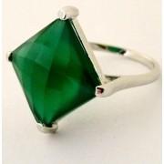 Inel argint onix verde -VR017031 (MASURI IN STOC ⤵: 52 mm circumferinta sau 16,6 mm diametru interior, Categorie: inele)